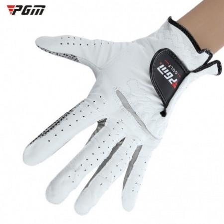 PGM Genuine Leather Left Hand Soft Ventilated Sheepskin Golf Glove for Man