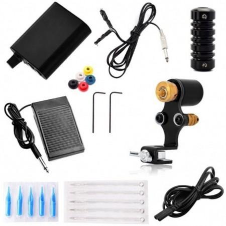 ATOMUS WSTZ0001 Black Setters Tattoo Machine Set