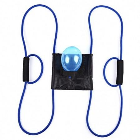 Handy Rope Muscle Developer Puller Resistance Band Water Ball Launcher