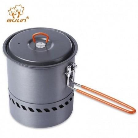 BULin Hiking Picnic Backpacking Tableware Camping Pot Pan