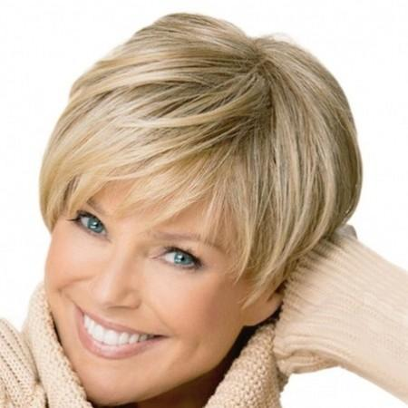 Elegant Gradient Ramp Short Straight Wig