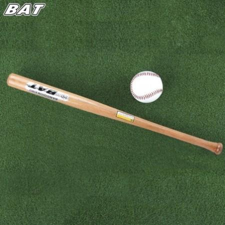 BAT Outdoor Sports Kitty Ball Solid Wood Baseball Bat Fitness Equipment