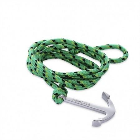 Zinc Alloy Anchor Bracelet Outdoor Sport Paracord Love Decoration