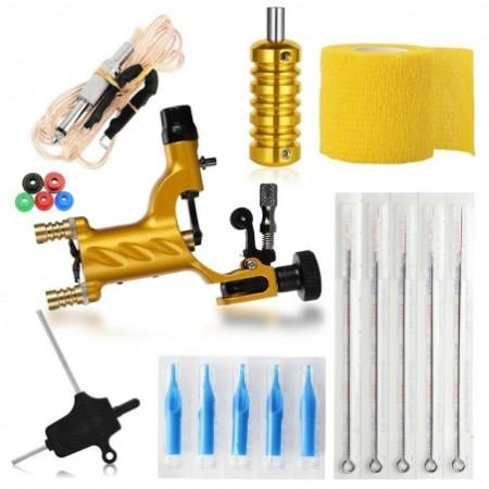 ATOMUS WSTZ001103 Portable Golden Tattoo Machine Practice Component