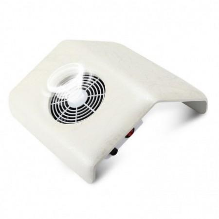 Suction Nail Dust Collector Manicure UV Gel Dryer 23W Cleaner