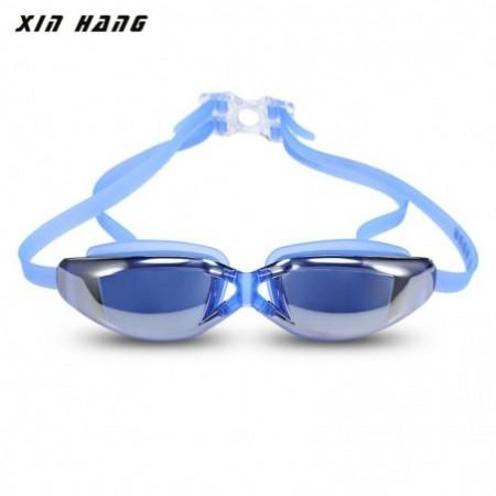 XINHANG XH9200 HD Plating Anti-fog UV Swimming Goggles