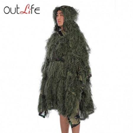 Outlife Camouflage Cloak Jungle Ghillie Suit