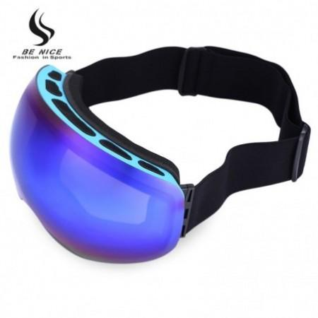 BENICE Double Lens UV Protection Anti-fog Big Spherical Skiing Glasses Snow Goggles