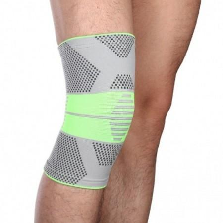 Mumian A10 Classic Gray Green Color knitting Keep Warm Sports Knee Sleeve Brace