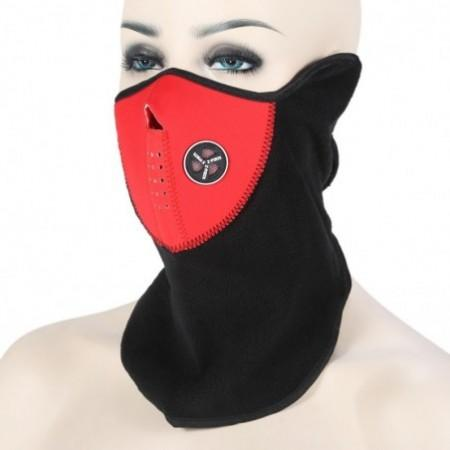 NUCKILY Winter Windproof Fleece Cycling Mask Outdoor Riding Face Guard Neck Warmer