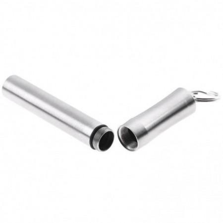 Outdoor Portable Stainless Steel Toothpick Tube