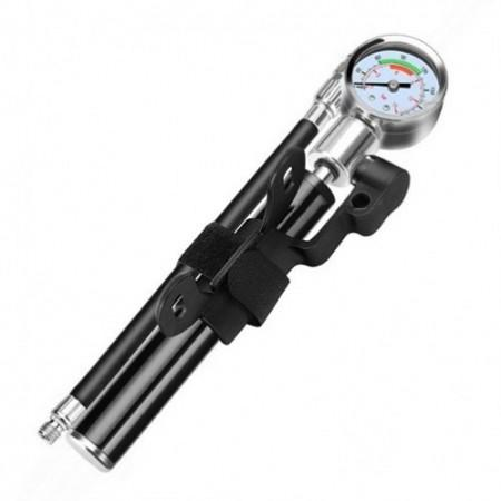 Portable High Pressure Pump Bicycle Mountain Bike Inflator