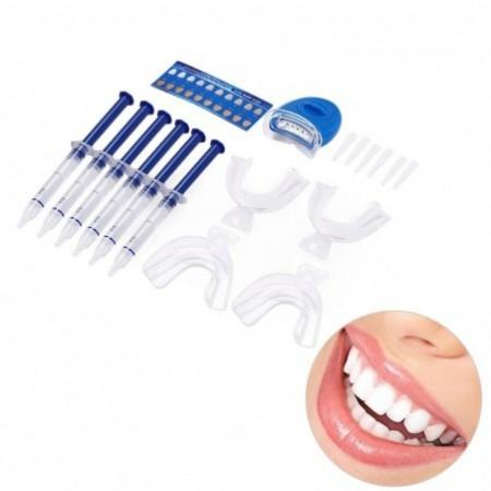 Dental Oral Care Teeth Bleaching Kit Lamp Whitening Gel / Lamp Tooth Whitener
