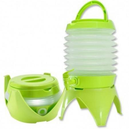 Outdoor Portable Camping Bottle Collapsible Drinking Water Barrel