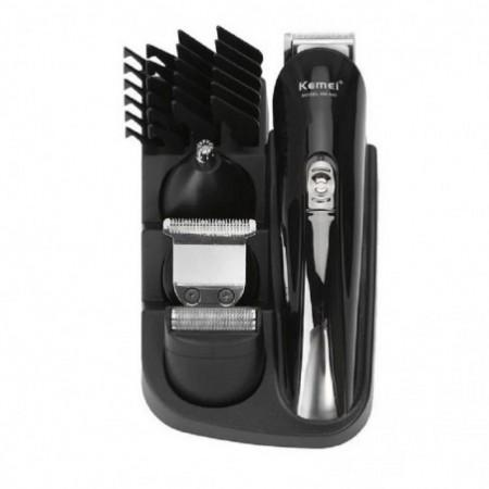Kemei KM-500 8 in 1 Clipper Electric Shaver Beard Trimmer Styling Tools Shaving