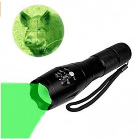 Green light LED Coyote Hog Pig Varmint Predator Hunting Light Flashlight