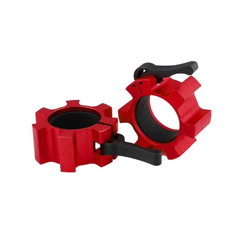 2pcs Olympic Standard Aluminum Alloy Barbell Clamp