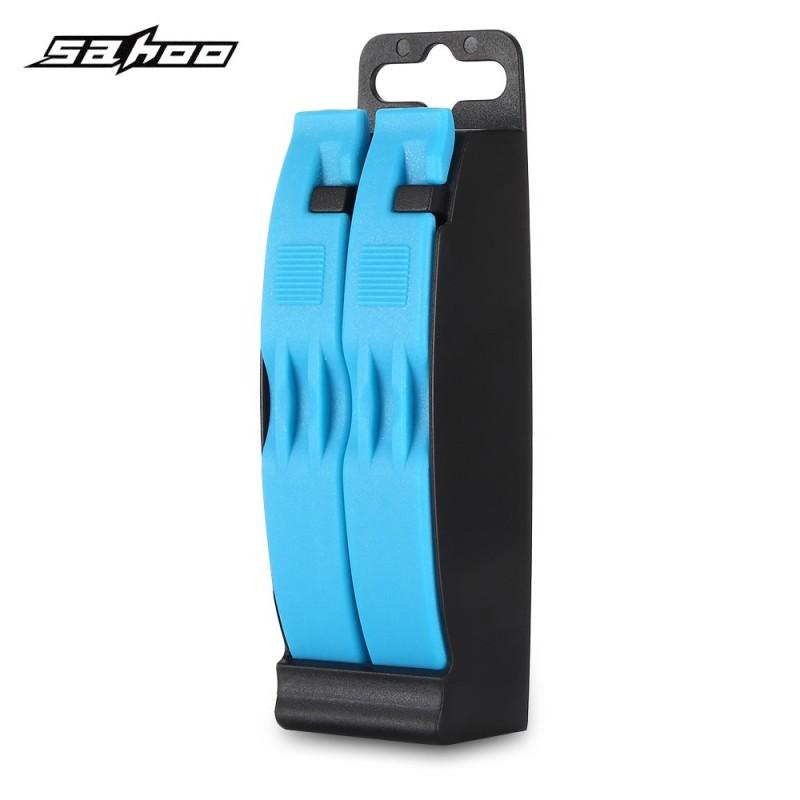 SAHOO 213090 - W Bicycle Tire Repair Tool Set Lever Patch Pry Rods