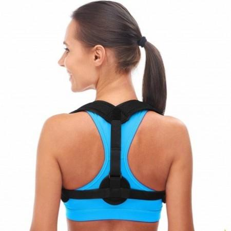 CR - PC02 Breathable Mesh Cloth Unisex Sitting Posture Humpback Clavicle Correction Belt