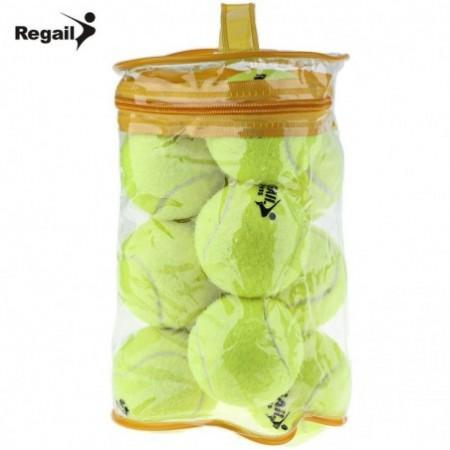 REGAIL 12pcs High Elasticity Tennis Training Ball