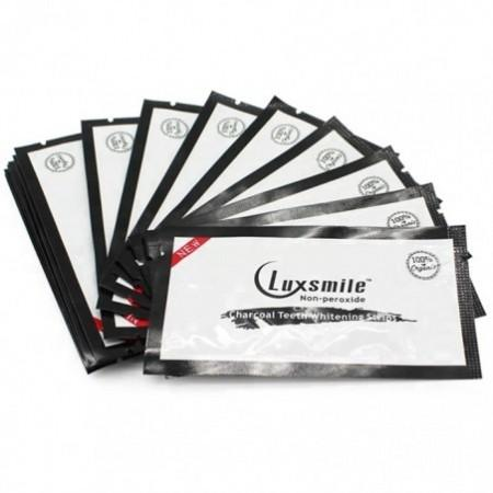 Luxsmile Charcoal Teeth Whitening Strips 14pcs
