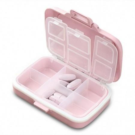 Portable Pill Box Mini Jewelry Storage Case for Travel
