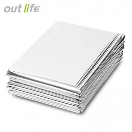 Outlife 210 x 140CM Emergency Survival Mylar Thermal Blanket