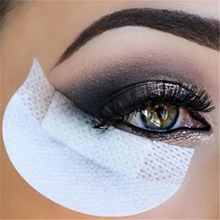 10PCS Anti Dizzy Eye Stickers Eyeliner False Eyelash Makeup Tools