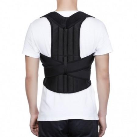 Adjustable Posture Corrector Back Shoulder Brace Support Belt