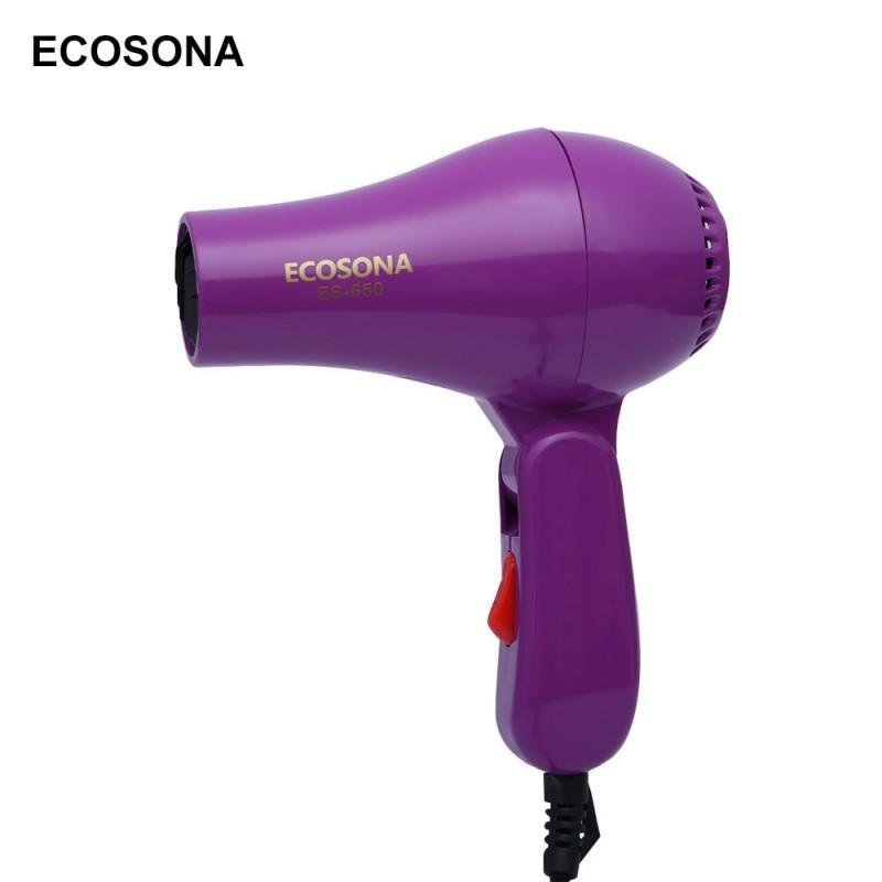 ECOSONA ES - 650 Mini Foldable Portable Traveller Compact Blower Hair Dryer