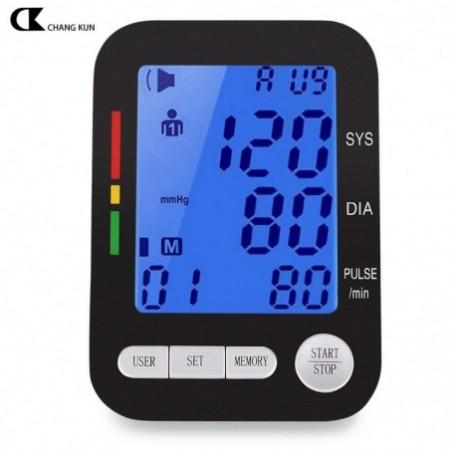 CHANGKUN Health Care Automatic Digital LCD Upper Arm Blood Pressure Monitor Heart Beat Meter