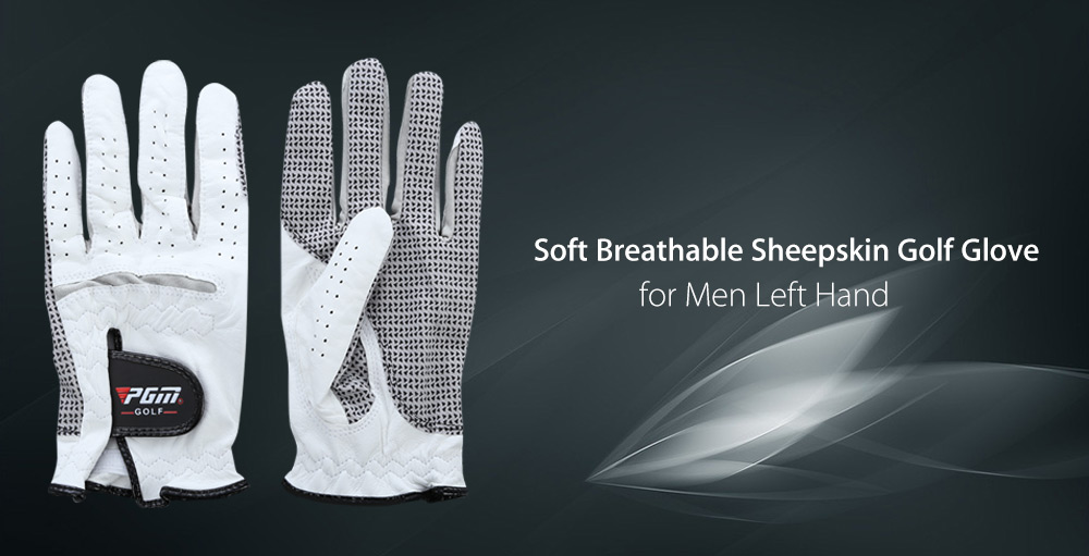PGM Outdoor Man Left Hand Soft Breathable Sheepskin Golf Glove