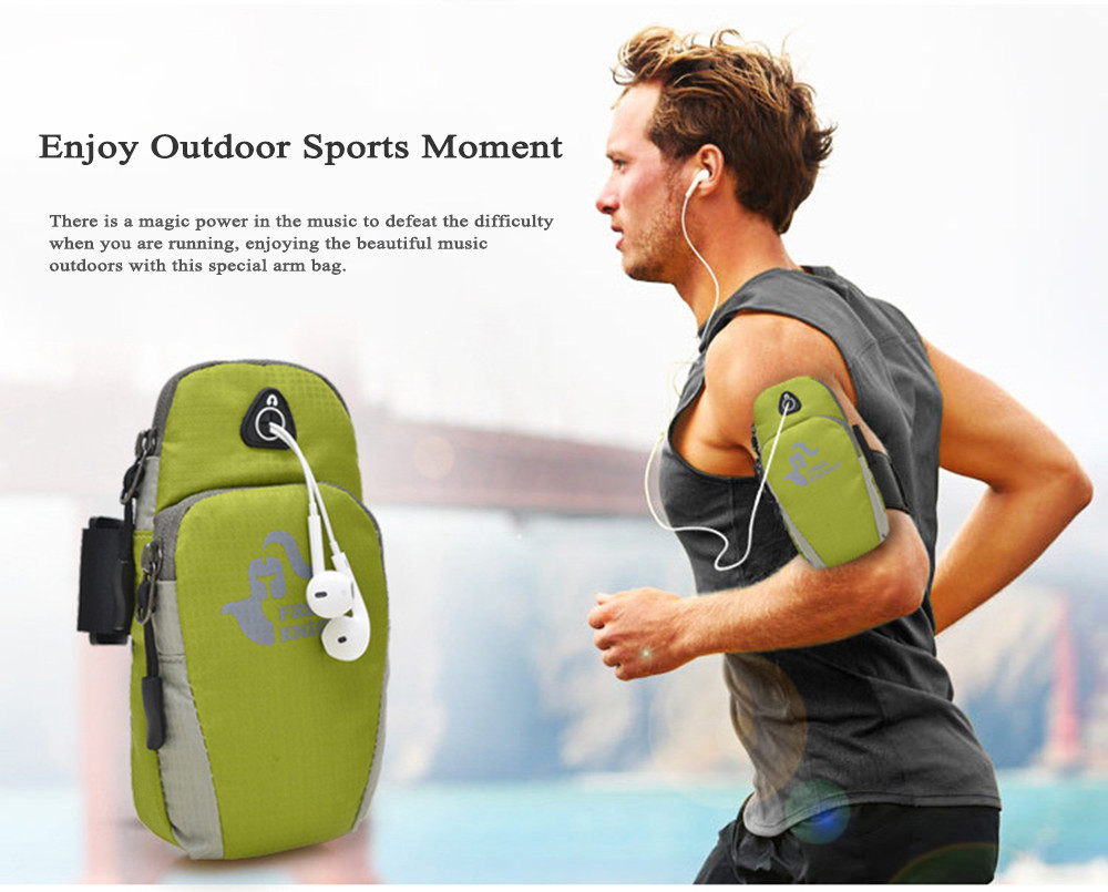 Free Knight FK801 Water Resistant Running Cycling Mobile Phone Pouch Arm Bag