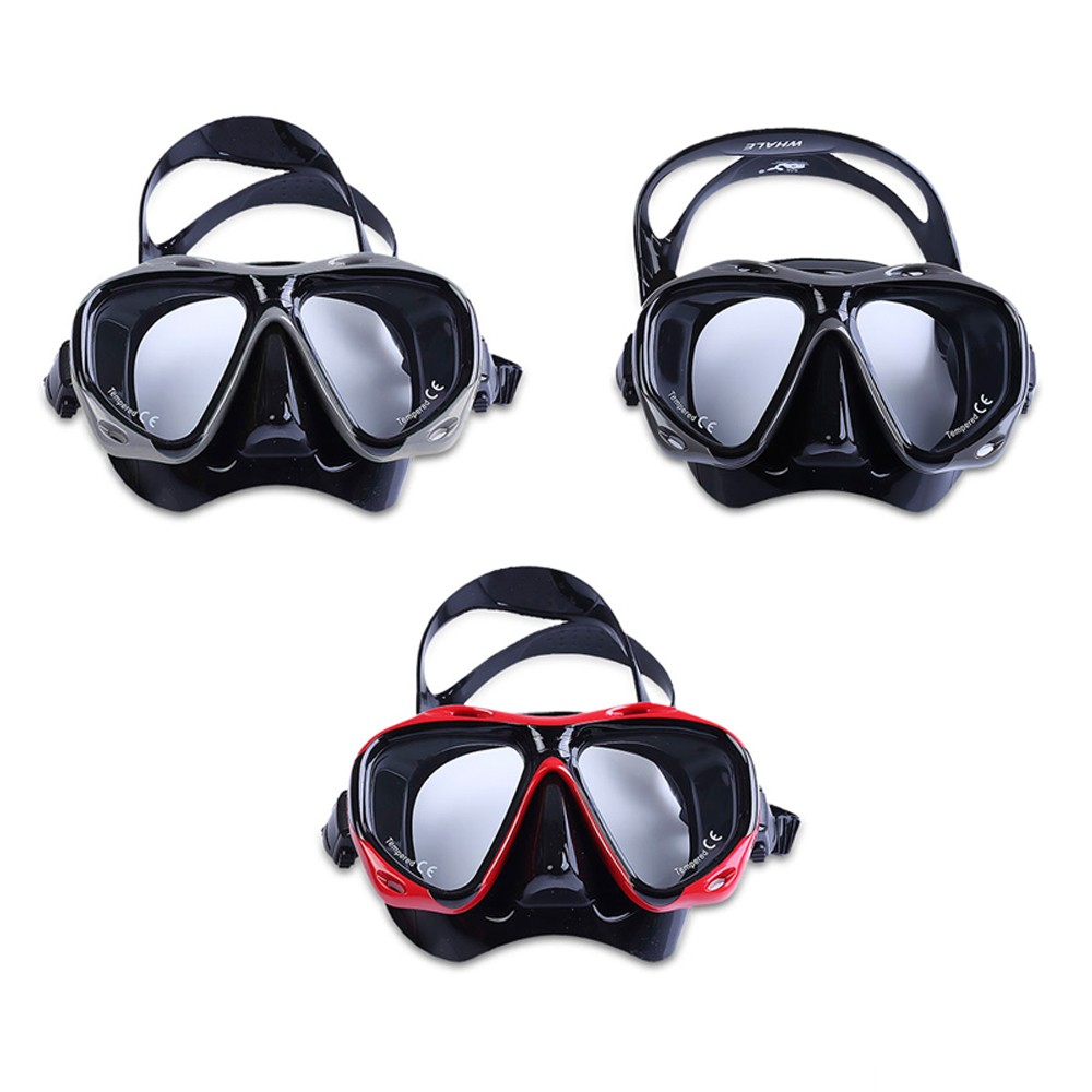 WHALE Professional Scuba Swimming Diving Mask Goggle