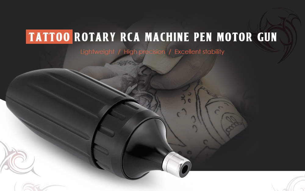 Tattoo Rotary RCA Wire Cutting Machine Pen Motor Gun for Body Makeup Art