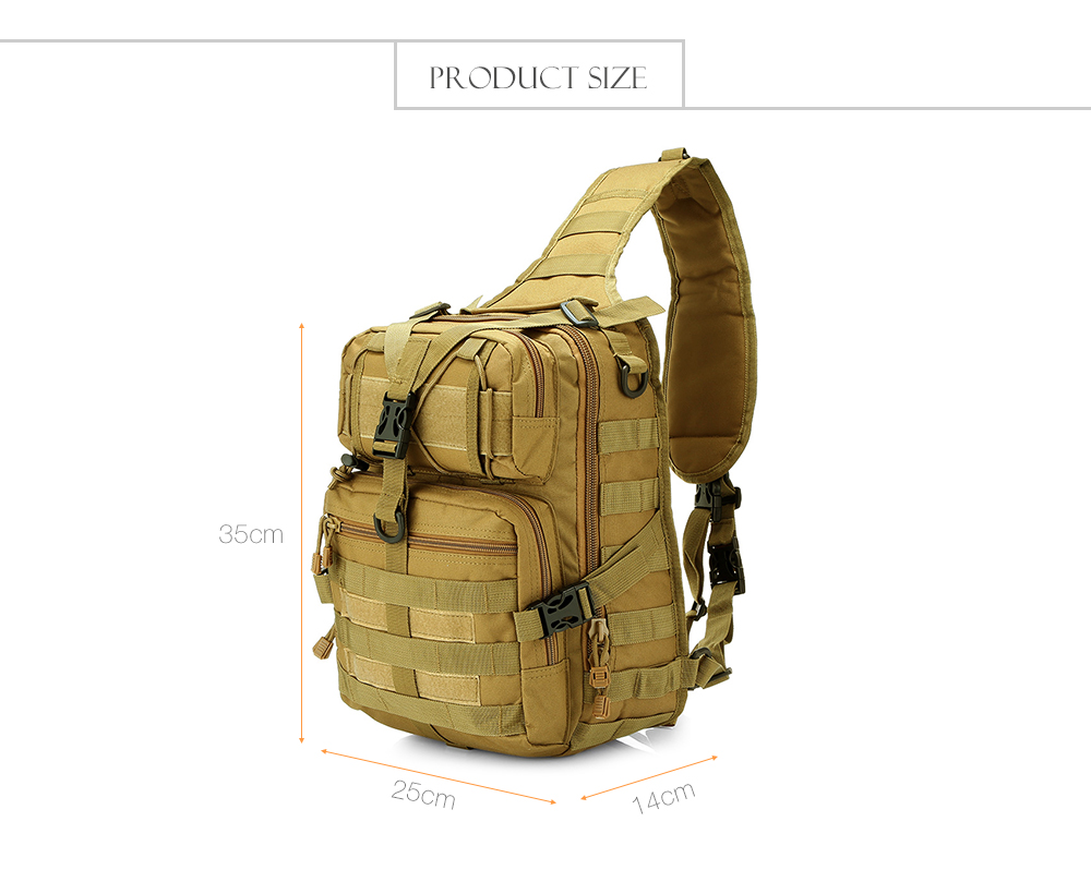 Outdoor Tactical Backpack Shoulder Bag Rucksack for Camping Hiking Trekking 4 Colors