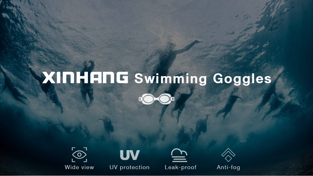 XinHang XH100 Swimming Goggles with Anti Fog UV Protection