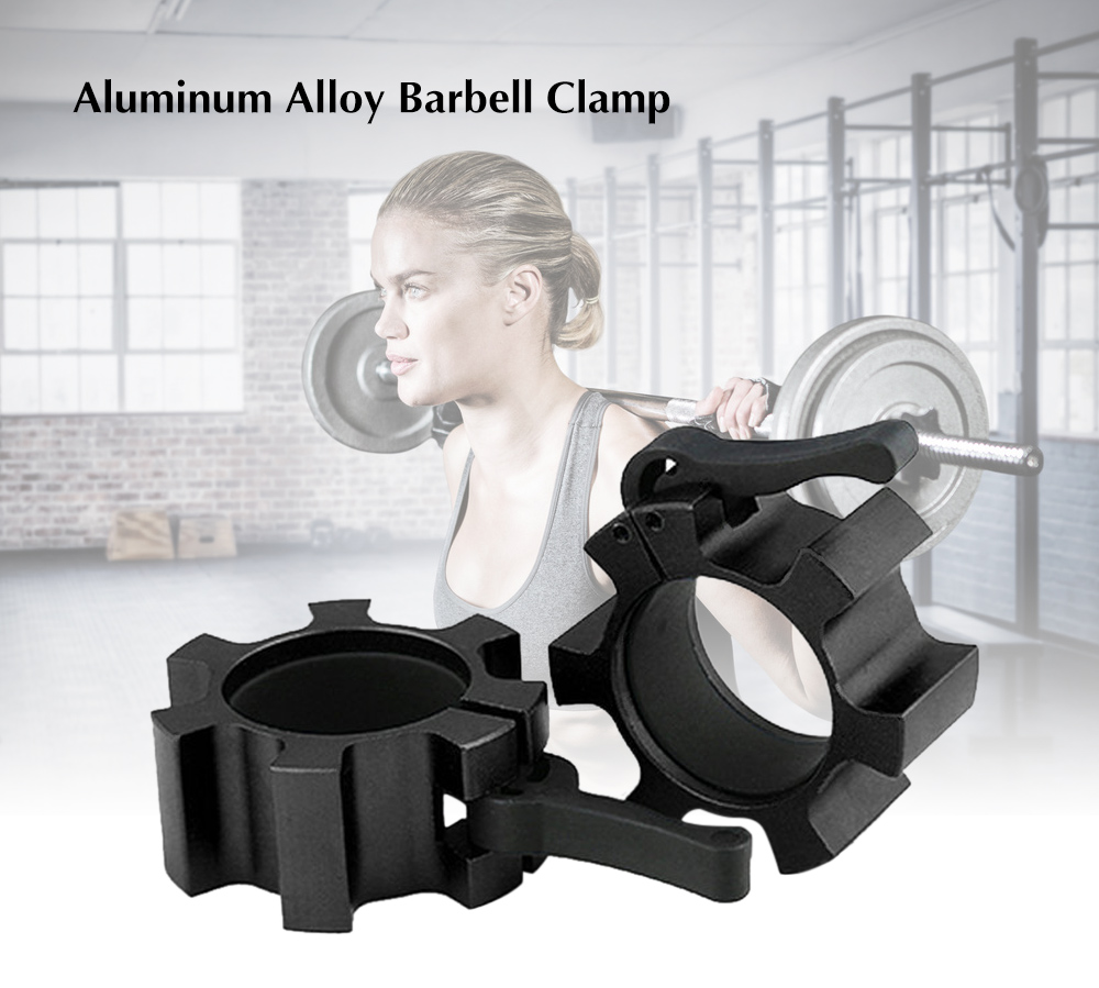 Olympic Standard Aluminum Alloy Barbell Clamp